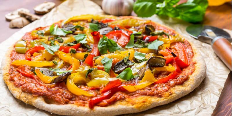 vegetariana pizza