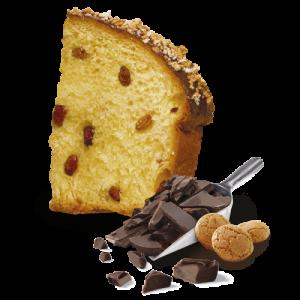 amaretto suklaa panettone