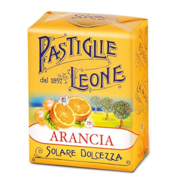 appelsiini pastillit
