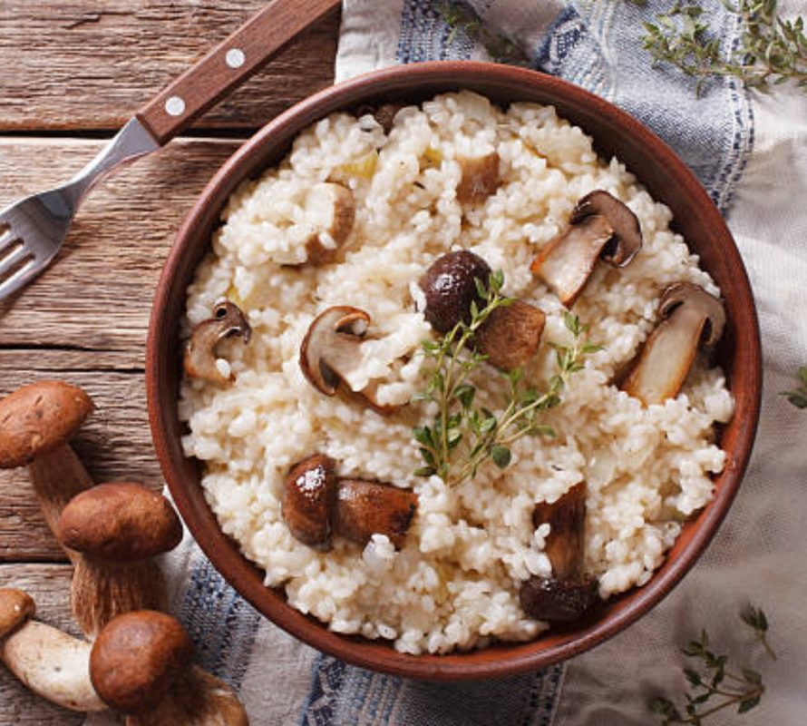 tryffeli risotto